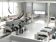 Productiehal te Thal Technologies in Almere