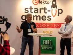 Eurocircuits doet verslag van de Elektor Start-Up Games