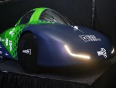 De nieuwe waterstofauto (foto: UT / Niek Erents).