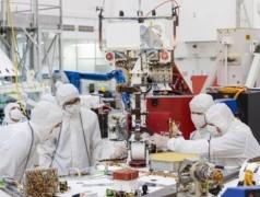 In het Jet Propulsion Lab wordt momenteel de Mars 2020-rover geconstrueerd (foto: Reuters).