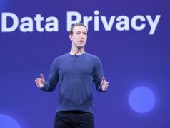 Mark Zuckerberg F8 2018 Keynote Foto: Anthony Quintano. CC BY 2.0 licentie.