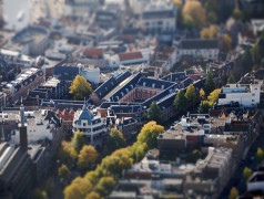 Amsterdam Historisch Museum vanuit de lucht. Foto: Sebastiaan ter Burg. CC BY-SA-2.0