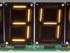 Bouw een klok/scoreboard/timer met XL-digits