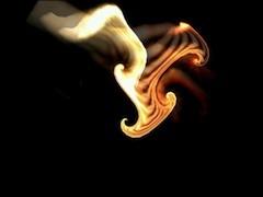 Milkymist video image flame