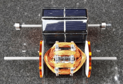 Elektor - Mendocino motor - solar cells and coils
