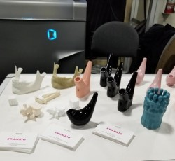 Kwambio's 3D printed designs at CES 2019