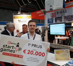 Le gagnant de la dernière édition du concours de start-ups organisé par Elektor aux Pays-Bas