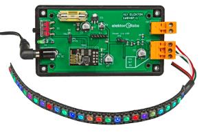 serveur web pour rubans de LED Neopixel à base d'ESP8266