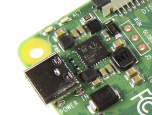 De PMIC van de Raspberry Pi 4