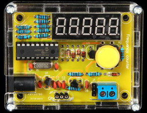 Frequency Meter & Crystal Tester 1 Hz - 50 MHz | assembled kit