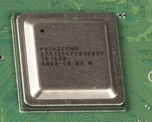 De SoC van de Raspberry Pi 4
