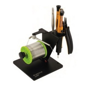 Solder dispenser with spool for soldering projects