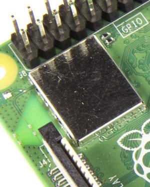 WLAN-chip met afscherming