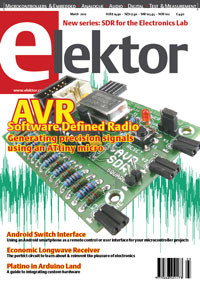 The First Ever Video of a New Elektor Issue