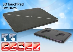 3D TouchPad from Microchip