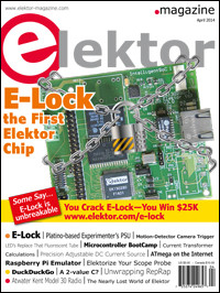 April Edition of Elektor Magazine Now Available