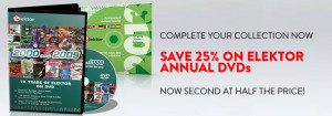 Elektor Annual DVDs – Buy One get Another at Half Price
