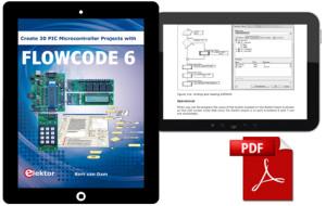 Crie 30 Projectos Com Microcontroladores PIC e Flowcode 6 – em formato digital!