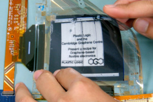 First Graphene-based Flexible Display
