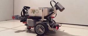 A Worm Brain Powering a LEGO Robot