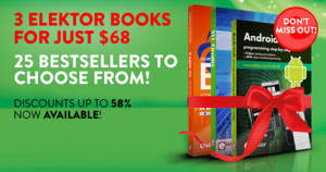 Santa Claus' No. 1 Recommendation: Three Elektor Books For Just $68