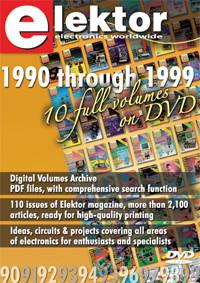 Summer Deal: £20 off DVD Elektor 1990 - 1999