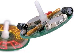 LED Spin Top: price halved in Elektor OUTLET