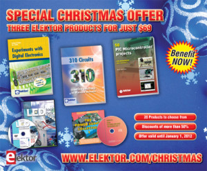 Christmas Shopping at Elektor: Buy Three Products for Just $69