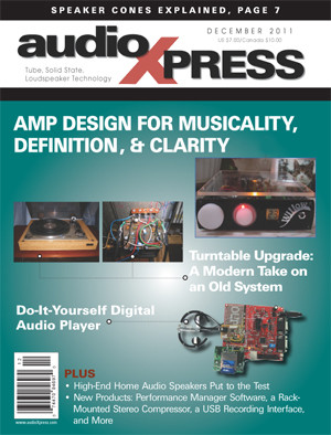 audioXpress magazine, highly recommended by Elektor!