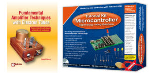 OUTLET Double Barrel! AVR/Bascom Tutorial Kit or Electron Tubes Reference Book