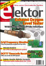 A whole year of Elektor magazine at a whopping 25% discount