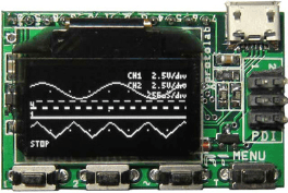$50 miniature mixed-signal scope module
