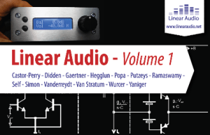 Linear Audio: Volume 1 is hot off the press