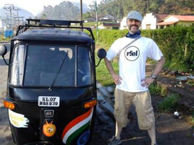 Racing through India for charity on a glorified lawnmower