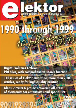 Summer Deal: 29% off DVD Elektor DVD 1990 - 1999