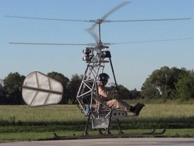 World's first untethered, manned electric helicopter flight