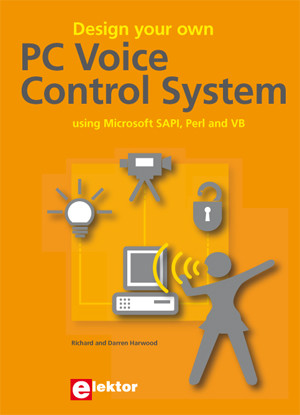 New book from Elektor: Design your own PC Voice Control System