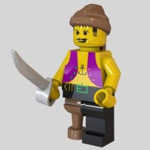 Ahoy pirates! 3D models ahead!