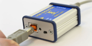 USB isolator prevents ground-loop problems