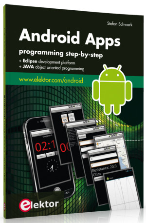 New Book from Elektor: Android Apps