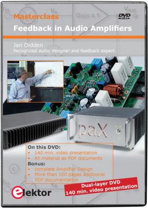 "15% Discount on DVD ""Masterclass Feedback in Audio Amplifiers"""