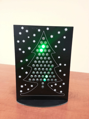 Forget About a Nordmann Tree... Go for a Hyperactive LED Xmas Tree
