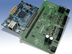 Motor Control Kit Features Customizable System-on-Chip Technology