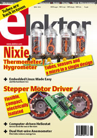 Elektor's June 2012 Edition on Sale Now