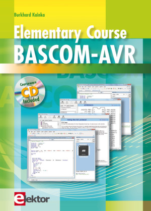 New Book from Elektor: Elementary Course BASCOM-AVR