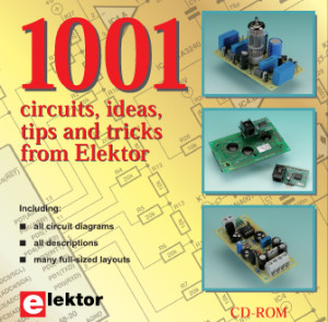 Summer Deal: More than 1000 Elektor Circuits on CD with a £10 Discount!