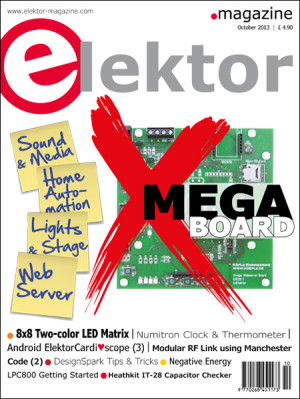 Elektor October 2013 Edition Published