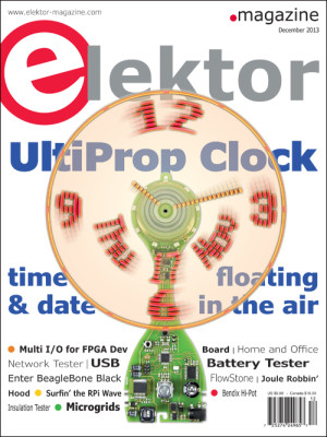 Elektor December 2013 Edition Now on Sale