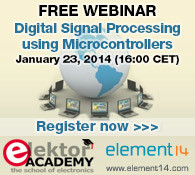 New Webinar: Digital Signal Processing using Microcontrollers