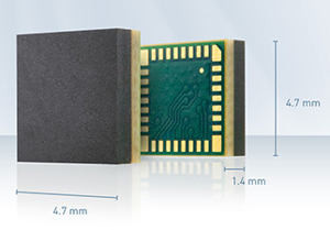 The Tiniest GPS Receiver Chip
